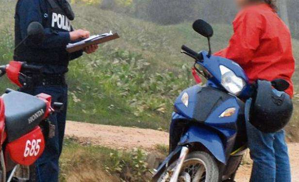 Operativo impacto en Pan de Azúcar 5 detenidos y 5 motos incautadas