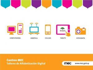 Centros MEC de Aznárez y Pan de Azúcar inscriben para Talleres 2016 3